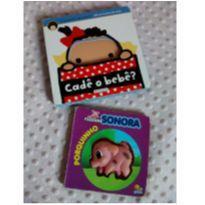 Livro cadê o bebe? e Fazenda Sonora porquinho -  - Girassol e Todo Livro