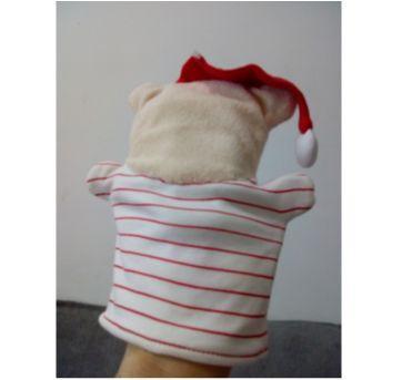 Fantoche urso de natal - Sem faixa etaria - Não informada