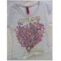 Camiseta florida Marisa - 2 anos - marisa