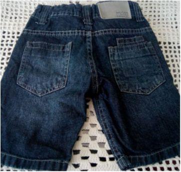 Bermuda jeans akiyoshi - 4 anos - Akiyoshi