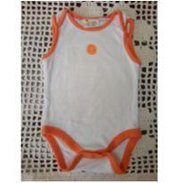 Body frutas Laranja Zara Baby - 0 a 3 meses - Zara Baby