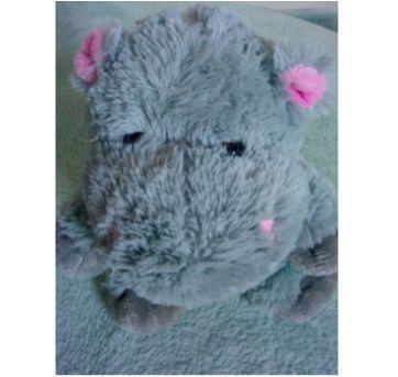 Hipopótama de pelúcia - Sem faixa etaria - Sem marca