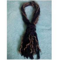 Gola de lã marrom -  - Feito à mão