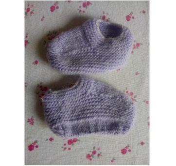 Sapatinhos de bebê ❤️❤️ - 0 a 3 meses - Feito à mão