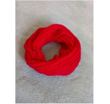 Gola de lã vermelha - Sem faixa etaria - Feito à mão
