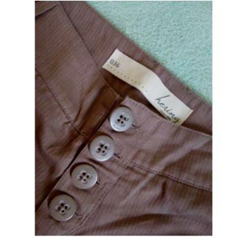 Shorts Hering marrom para mamãe ou adolescente - PP - 36 - Hering