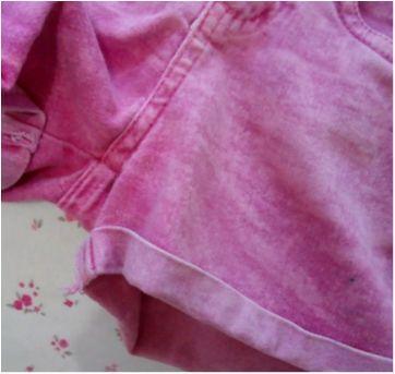 Shorts rosa Monster High - 6 anos - Não informada