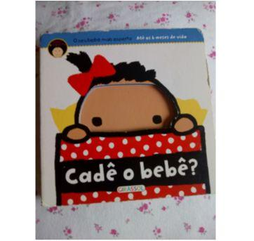 Livro didático Cadê o bebê? - Sem faixa etaria - Editora Girassol