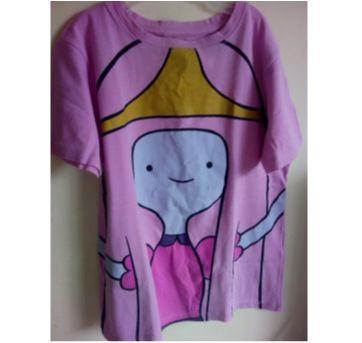 Camiseta Princesa Jujuba - 10 anos - Não informada