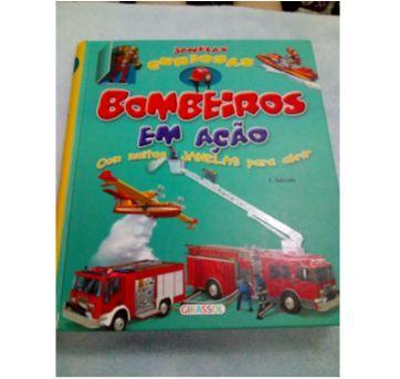 Livro Bombeiros em ação - Sem faixa etaria - Girassol e Girassol, Editora