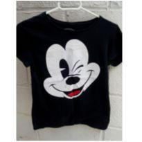 Camiseta Mickey - 14 anos - Não informada