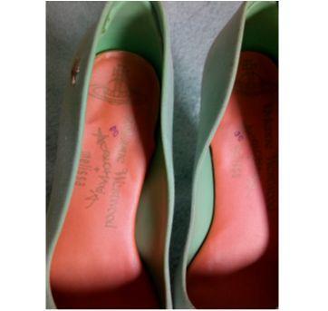 Melissa Vivienne Westwood anglomania verde pastel - 36 - Melissa