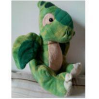 Dragão de pelúcia verde -  - Hugfun
