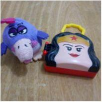 Cuco DTC e lego mulher maravilha do mc Donald`s -  - DTC e Mc Donald`s