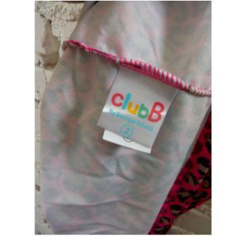 Vestido chique oncinha Rosa - 2 anos - Club B