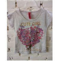 Camiseta floridinho ❤️ - 2 anos - marisa