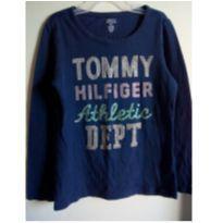 Camiseta manga longa Tommy Hilfiger original -aproveite a promoção! - 4 anos - Tommy Hilfiger