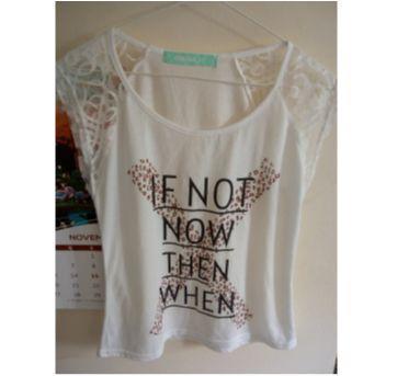 Camiseta Marisa PP - desapego da Malu - 14 anos - marisa
