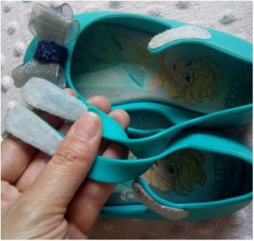Sapatilha com laço Frozen - 22 - Grendene