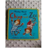 Livro em inglês Chimp and Zee -  - Não informada