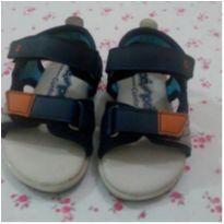 Sandália pé com pé confort