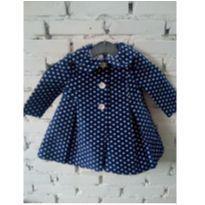 Vestido com abrigo Bonnie Baby nav - 6 a 9 meses - Bonnie Baby