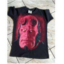 Camiseta Hellboy - 12 anos - Não informada