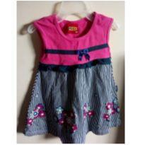 Vestidinho Kyly - 3 meses - Kyly