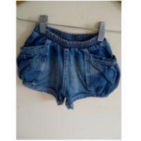 Shorts jeans tamanho 4 - 4 anos - Não informada