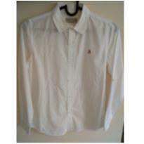 Camisa branca Zara Boys tamanho 9/10 - 9 anos - Zara