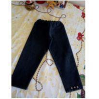 Calça preta legging - 2 anos - Não informada