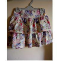 Saia florida fashion floridinha ❤️❤️ - 8 anos - Não informada e Bika Baby