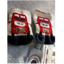 Meia London Bus recém nascido -  - Sem marca