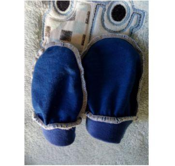 Luvinha azul escuro recém nascido - Sem faixa etaria - Sem marca