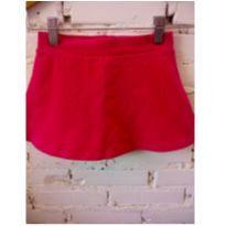 Shorts saia rosa - 5 anos - Fuzarka