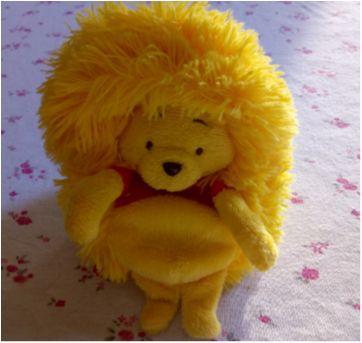 Hideaway pets Pooh Disney - pelúcia - Sem faixa etaria - DTC