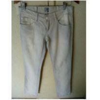 Calça jeans clara para mamãe - M - 40 - 42 - Marca não registrada