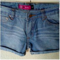 Shorts jeans curto Miss Young meninas - 14 anos - Miss Young