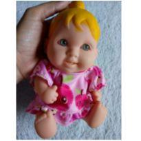Boneca bebê Rauber com roupinha Baby Alive