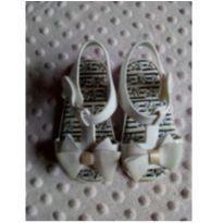 Sandália Pimpolho branca com laço - 19 - Pimpolho