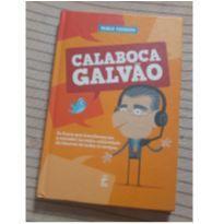 Livro Calaboca Galvão novo -  - Marca não registrada