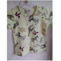 Camiseta Brandili tamanho 6! Zebras e girafas - 6 anos - Brandili