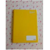 Caderno capa dura amarelo 96 folhas - veja descrição -  - Marca não registrada