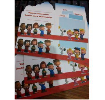 Convite Snoopy - Sem faixa etaria - Festcolor