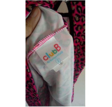 Vestido oncinha novinho com brinde grátis - livro NO REINO DAS PRINCESAS - 2 anos - Ciranda Cultural e Club B