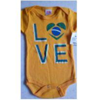 Body Love Brasil popcorn novinho - 3 a 6 meses - Popcorn