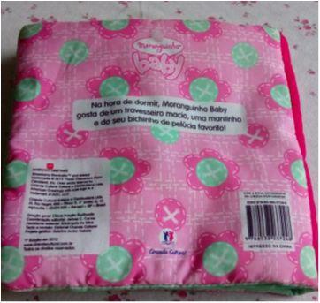 Moranguinho baby - Livro de tecido - Hora de dormir - Sem faixa etaria - Ciranda Cultural