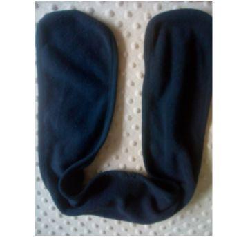 Cachecol fleece azul marinho - Sem faixa etaria - C&A