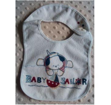 Babador cachorrinho Baby saylor - Sem faixa etaria - Colibri