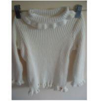 Blusa Mini Lady cor creme tamanho 6 - 6 anos - Marca não registrada